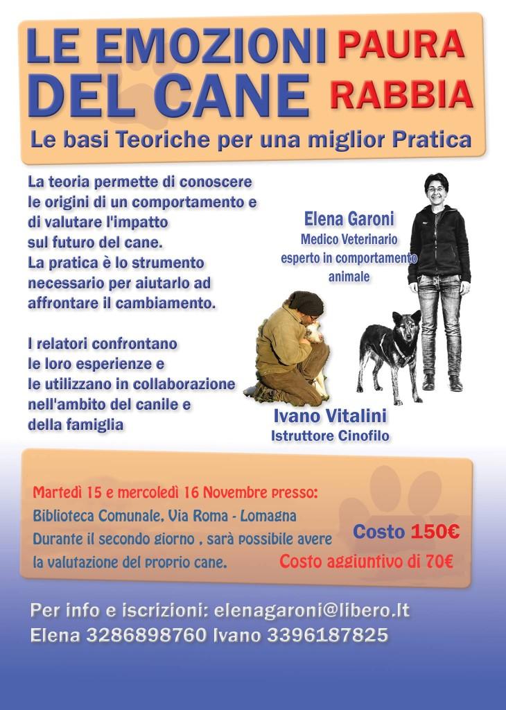 Le emozione del cane - Paura Rabbia di e con Elena Garoni e Ivano Vitalini