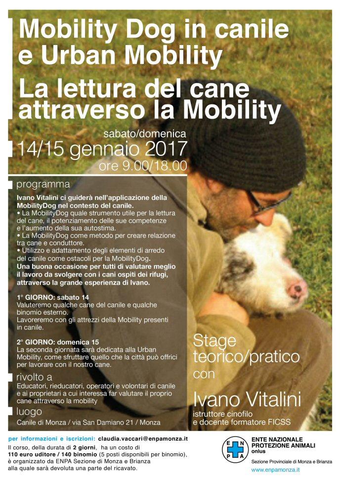 Mobility Dog in canile e Urban Mobility - Enpa Monza e Brianza e Ivano Vitalini