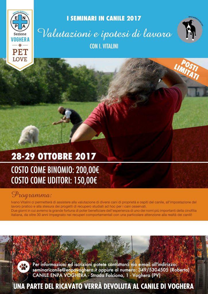 Voghera (PV) 28 e 29 ottobre 2017 - Ivano Vitalini: Valutazioni e Ipotesi di lavoro