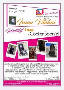 DESIO 4 maggio 2021 - Stage sui Cocker Spaniel con Ivano Vitalini