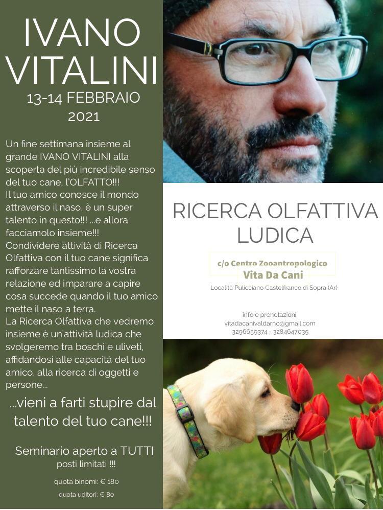 AREZZO 13 e 14 Febbraio 2021 - Seminario di Ricerca ludica con Ivano Vitalini
