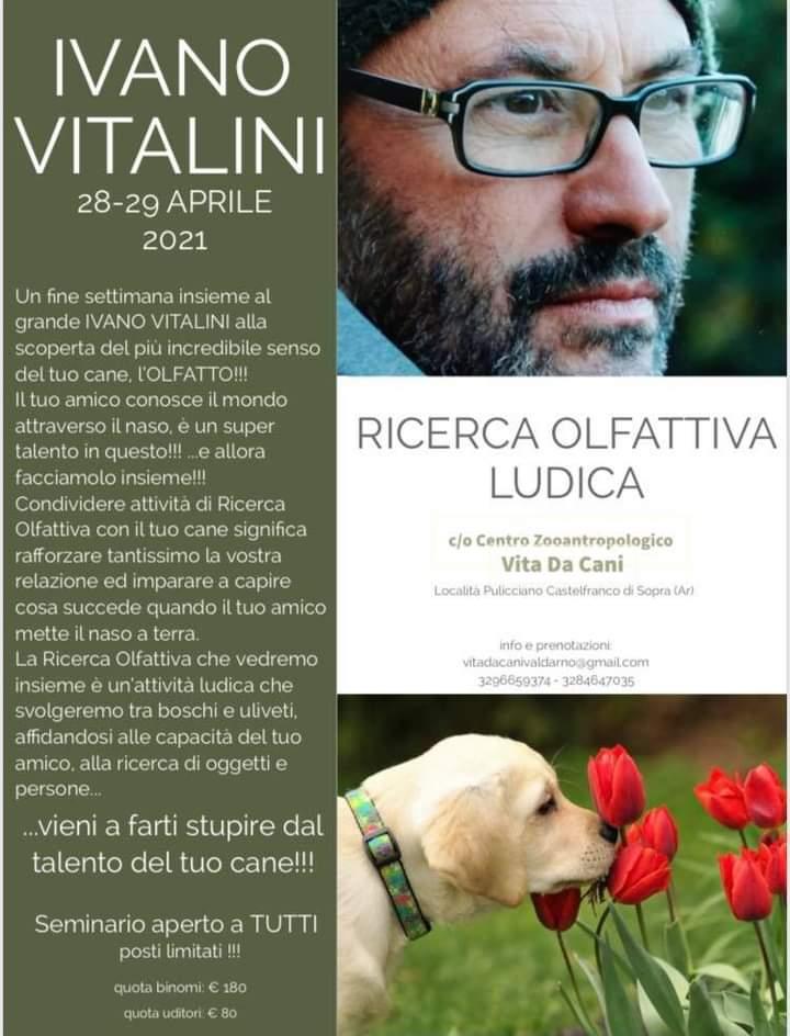 AREZZO 28 e 29 Aprile 2021 - Seminario di Ricerca ludica con Ivano Vitalini