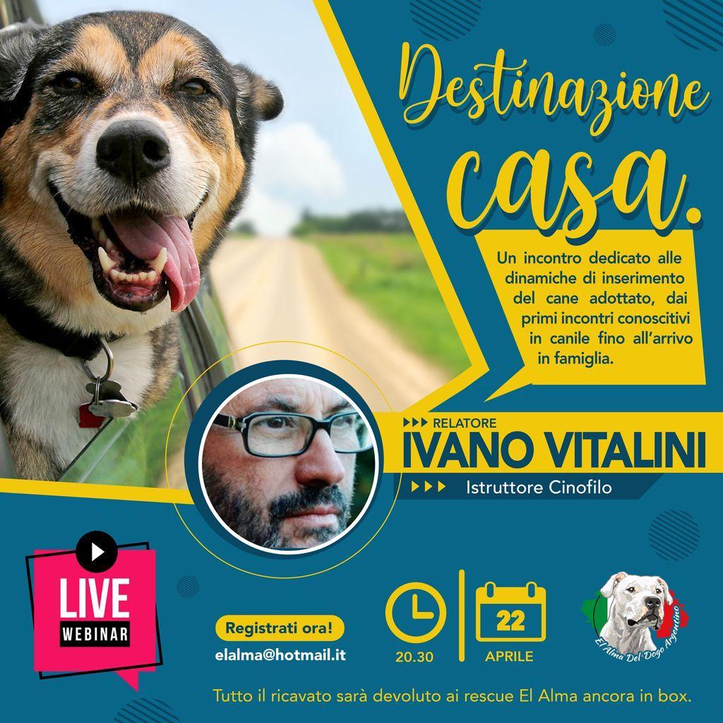 Webinair 22 Aprile 2021 - Destinazione Casa con Ivano Vitalini