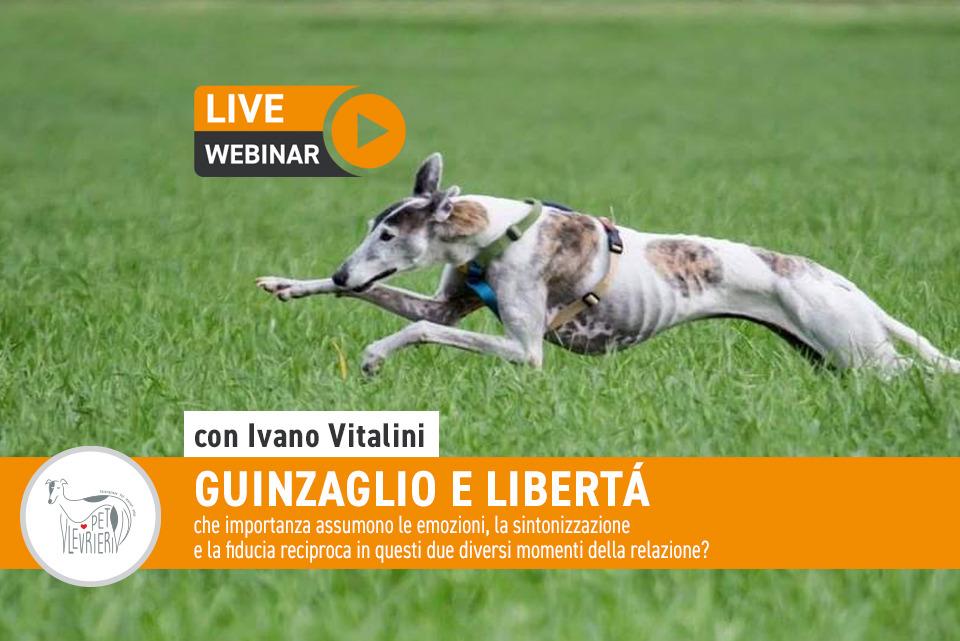 Webinar 17 Maggio 2021 - Guinzaglio e libertà con Ivano Vitalini