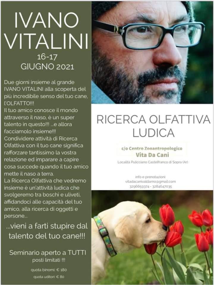 AREZZO 16 e 17 Giugno 2021 - Seminario di Ricerca ludica con Ivano Vitalini