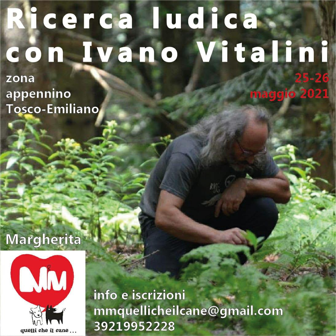 25 e 26 Maggio 2021 - Stage di Ricerca ludica con Ivano Vitalini