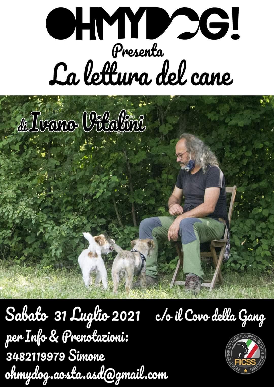 AOSTA 31 Luglio 2021 - La lettura del cane con Ivano Vitalini