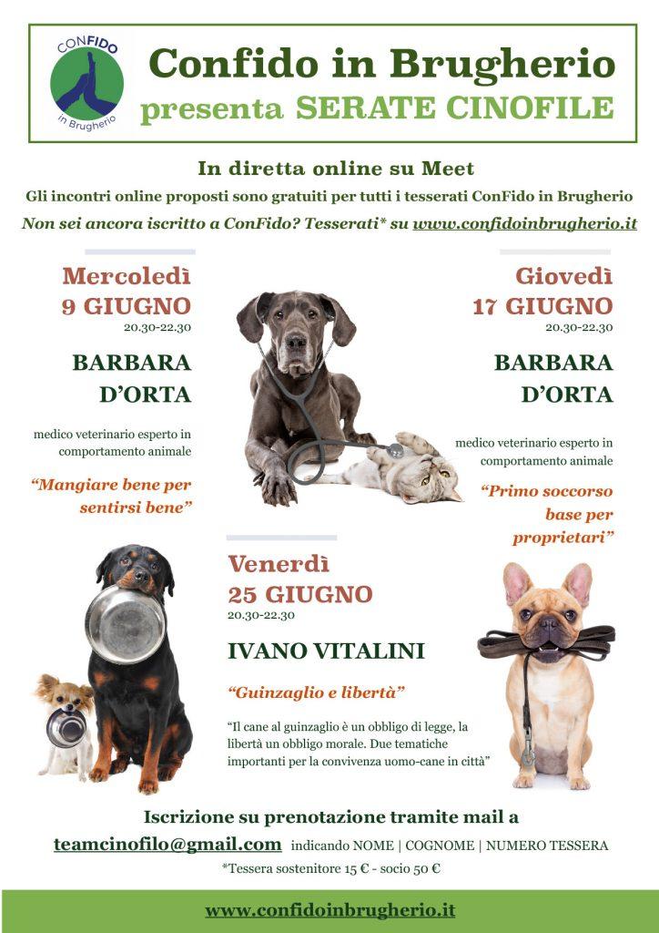 Webinar 25 giugno 2021 - Guinzaglio e Libertà con Ivano Vitalini